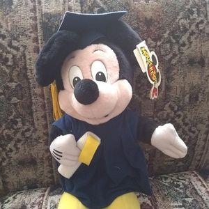 Mickey mouse plush graduation Mickey